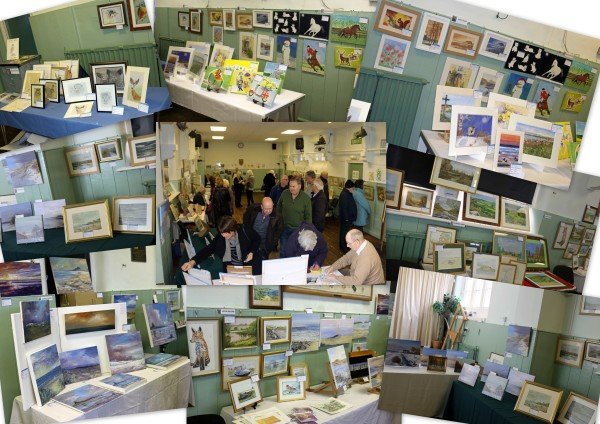 lesbury-art-exhibition-collage